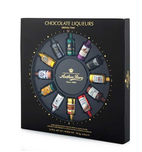 Anthon Berg Liqueur Filled Chocolates Assorted 12-Piece