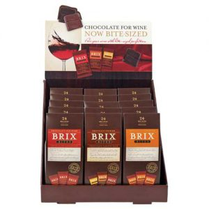 Brix Bites Chocolate Varieties 15 Piece Counter Display
