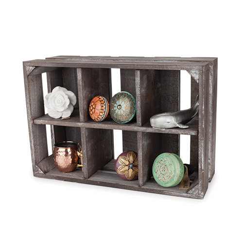 Marketplace: Wooden Display Crate