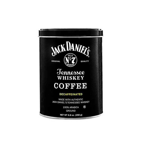 Jack Daniels Tennessee Whiskey Coffee 8.8oz Decaffeinated